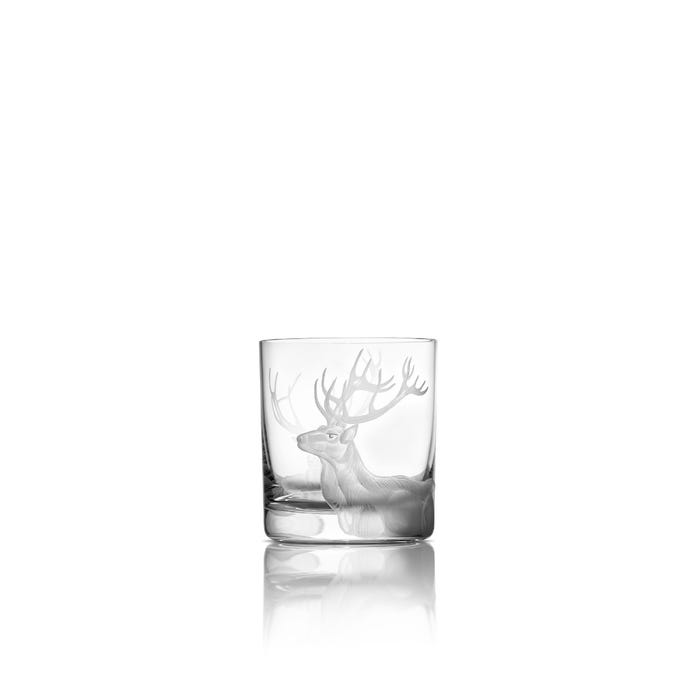 Stag Tumbler, Clear