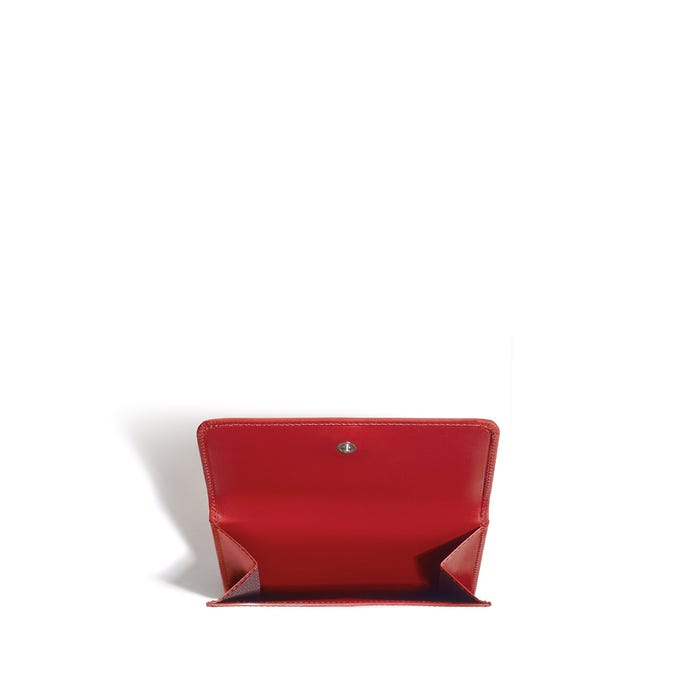Grafton French Purse in Saddle Leather