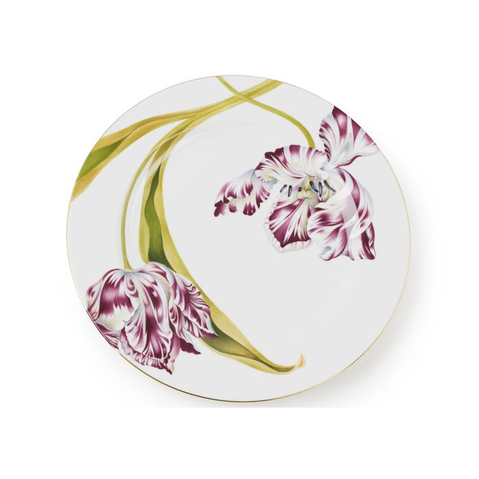 Tulip Charger Plate