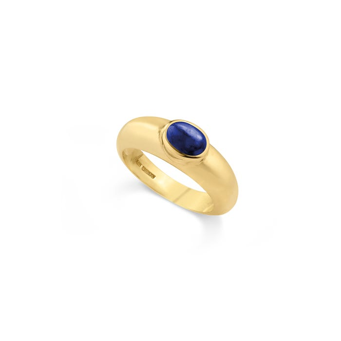 Cabochon Ring, Sapphire