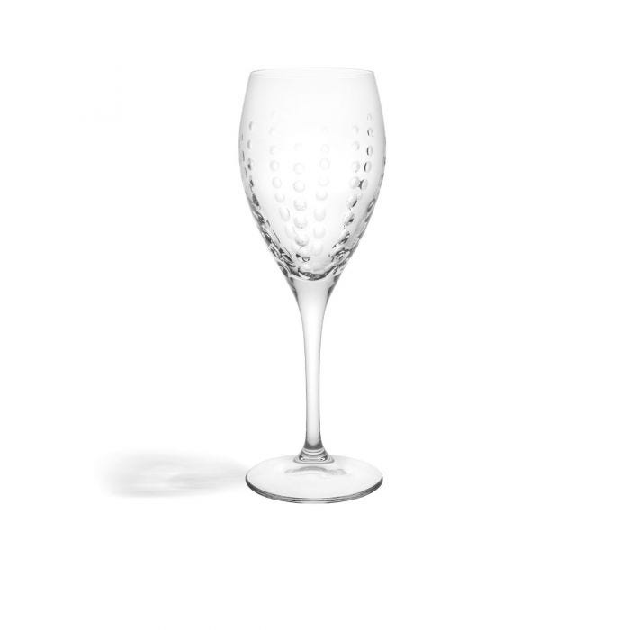 Bubbles Red Wine Glass