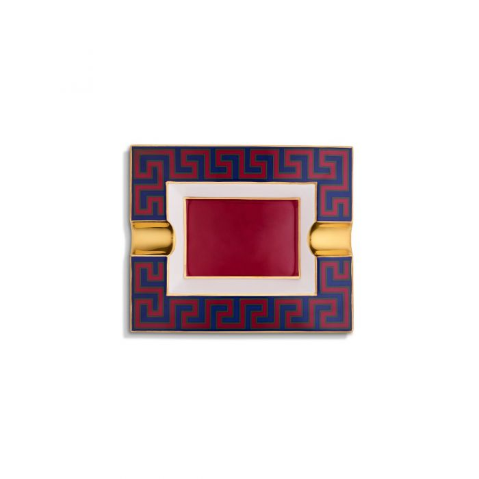 Meander Ashtray, Red