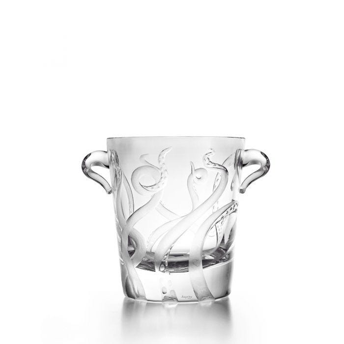 Octopus Champagne Cooler, Clear
