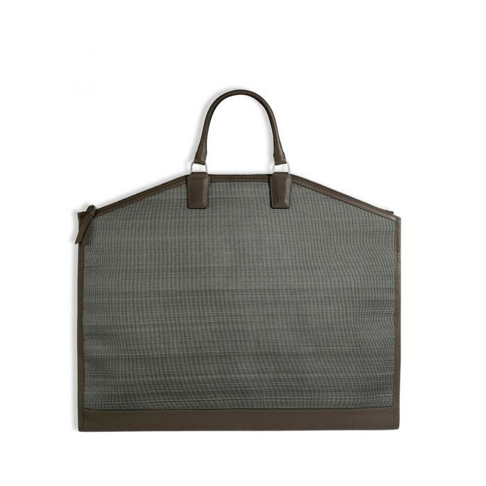 GMT Suitbag in Horsehair & Bullskin Leather