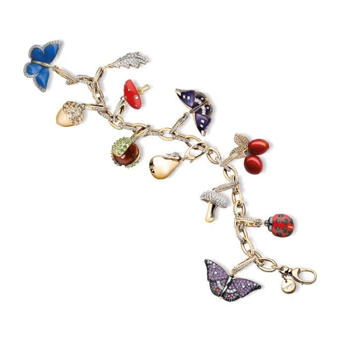 Woodland Butterfly Charm