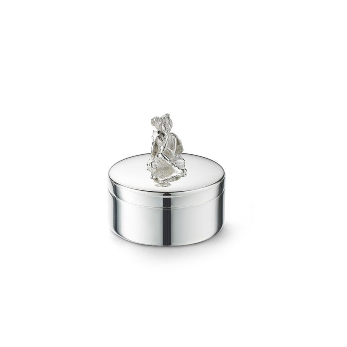 Girl Tooth Box, Silver