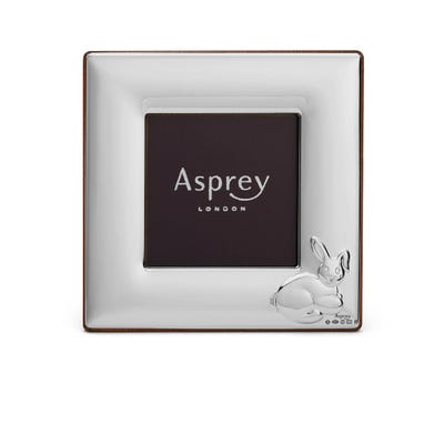 Asprey Children's Silver Rabbit Frame