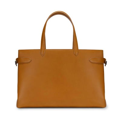 Tote 43cm Leather Cinnamon