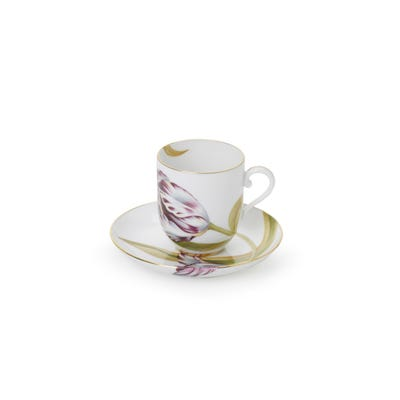 Tulip Mocca Cup & Saucer