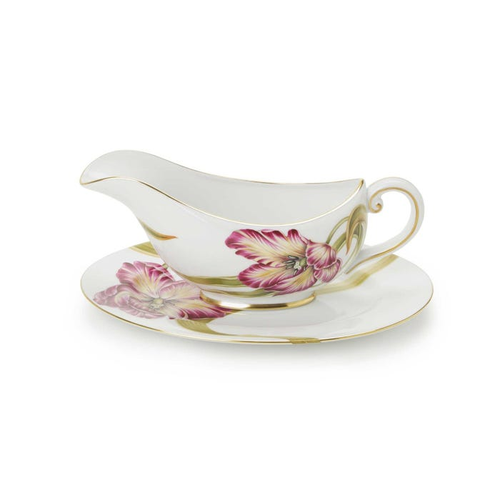 Tulip Sauce Boat & Stand