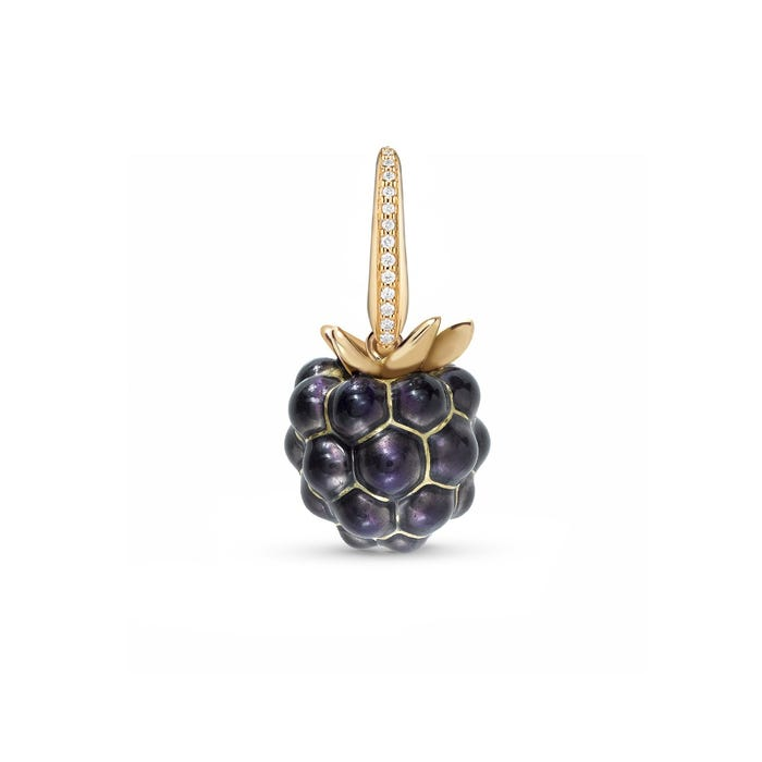 Woodland Blackberry Charm