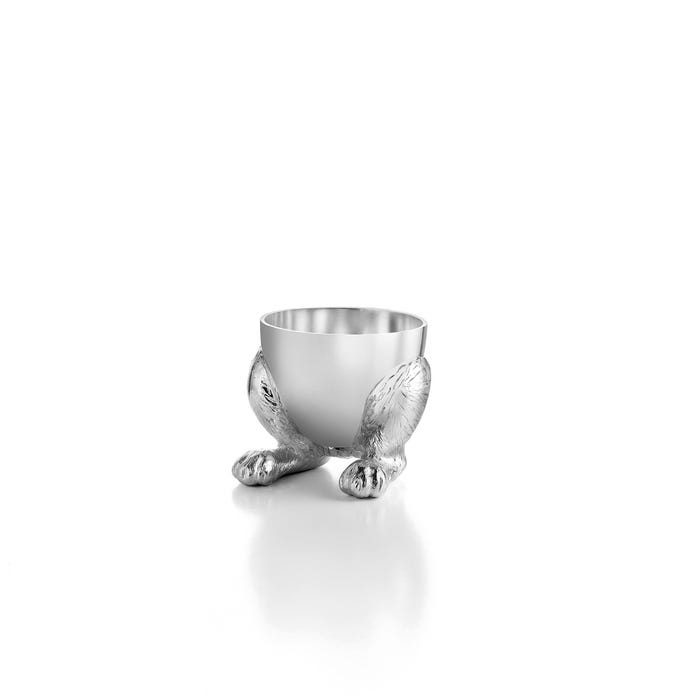 Rabbit Egg Cup, Silver
