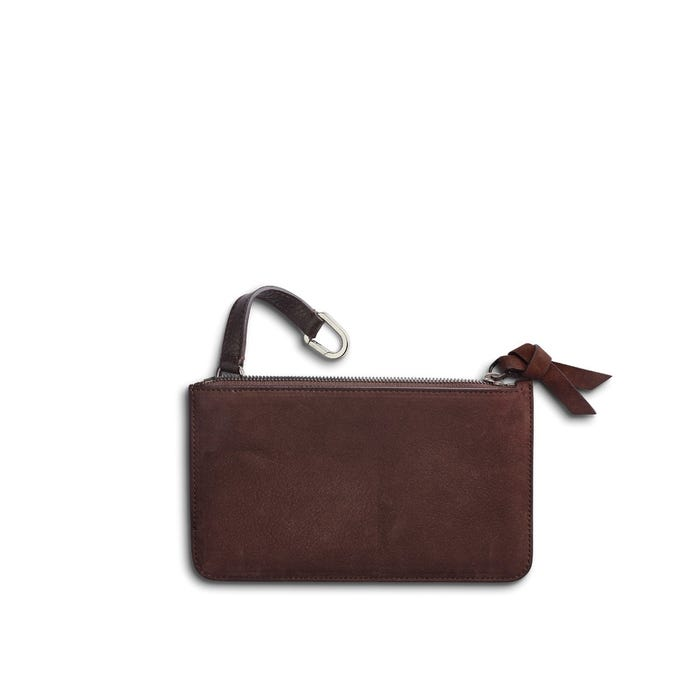 GMT Keys Pouch in Bullskin & Nubuck