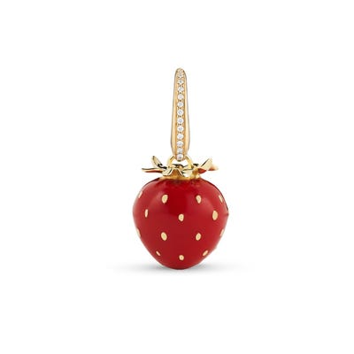 Woodland Strawberry Charm