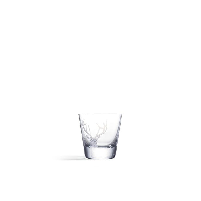 Stag Shot Glass, Clear