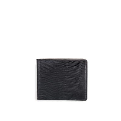Bond Street 6cc Billfold in Black Lizard