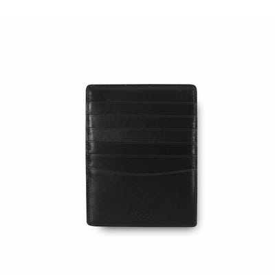 Hanover Card Sleeve in Saddle Leather