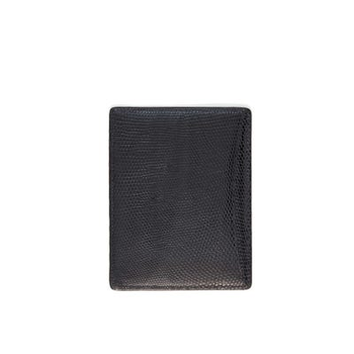 Bond Street Card Sleeve In Lizard Crocodile