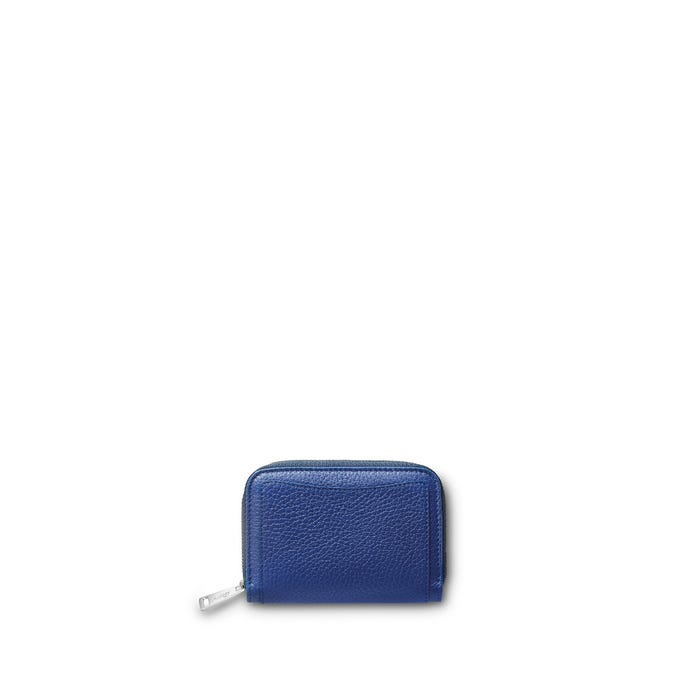 Grafton Mini Zip Purse in Bullskin