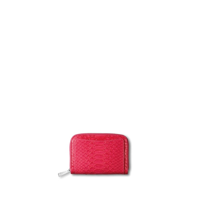 Grafton Mini Zip Purse in Python