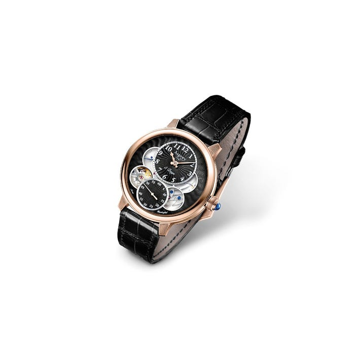 The Entheus R2, 42, Rose Gold/Black