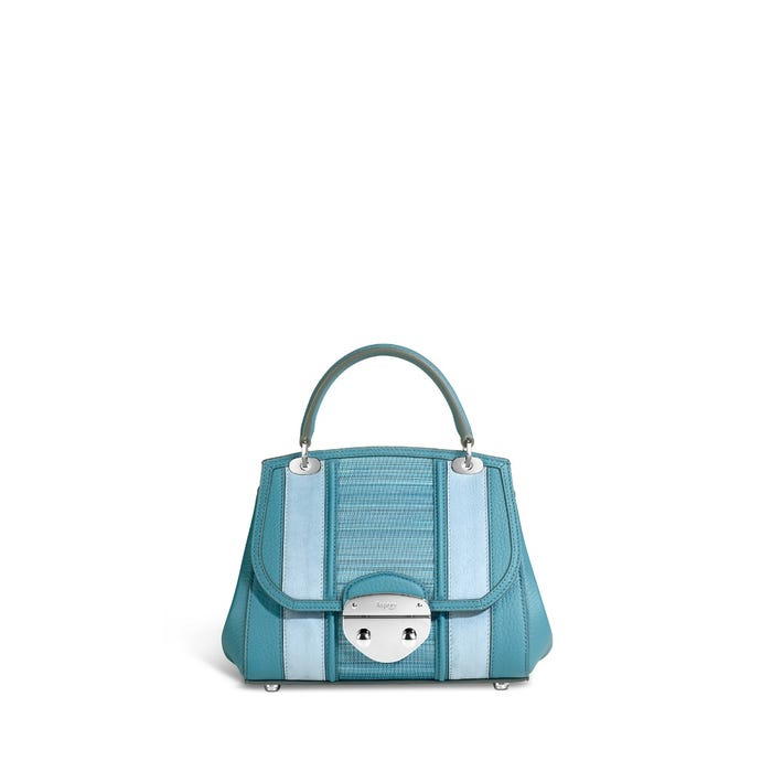 Belle Mini in Forget-me-not Bullskin, Horsehair & Nubuck