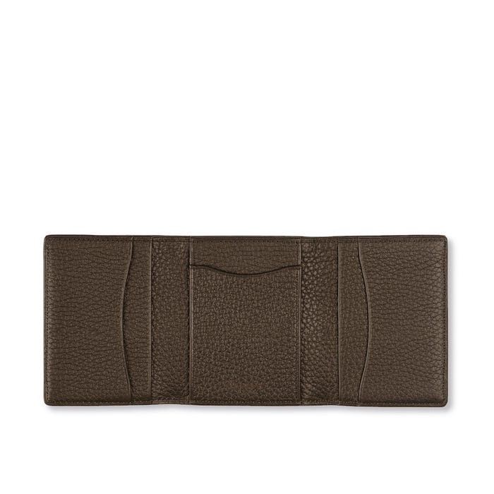 GMT Trifold Wallet in Bullskin