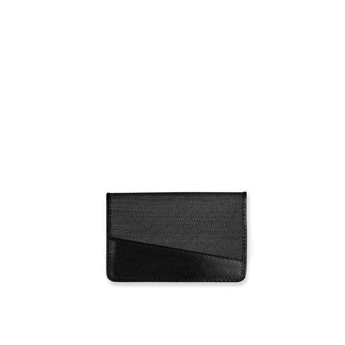 GMT Flat Card Case in Horsehair & Calf