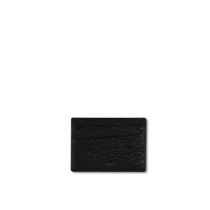 Bond Street Card Slip Case in Sharkskin