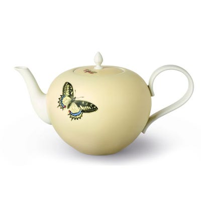 Butterfly Teapot, Yellow