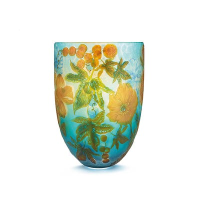 Four Seasons Vase, North America: Summer