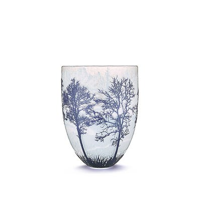 Four Seasons Vase, Asia: Winter