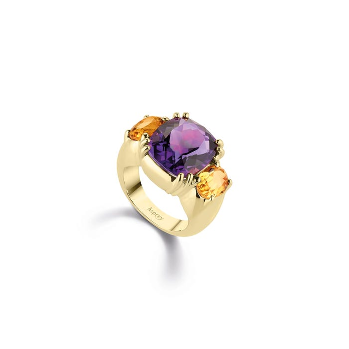 Maxi Chaos Ring, 18ct Yellow Gold