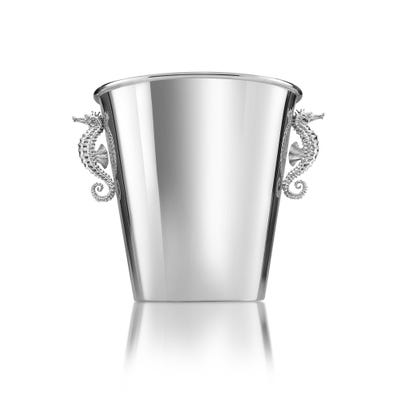 Seahorse Wine Cooler, Silver