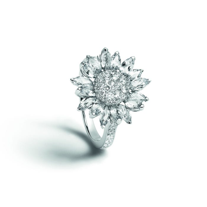 Daisy Heritage Ring, Diamond