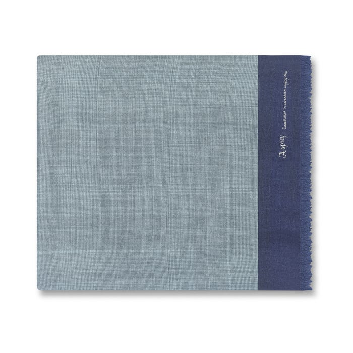 Hatched Scarf, Cashmere