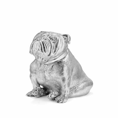 Bulldog Money Bank, Silver