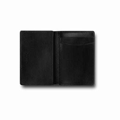 Hanover Folding Card Case in Saddle Leather