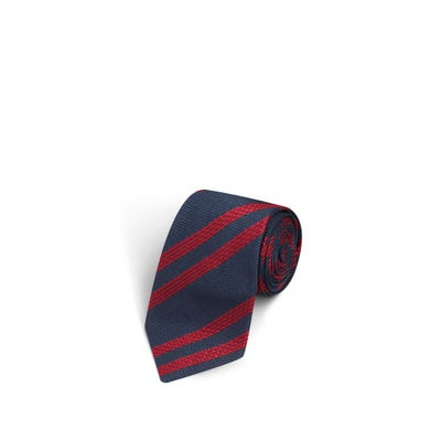 Large Stripes Navy and Red