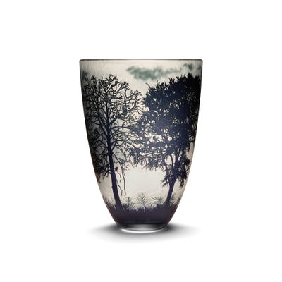 Large Four Seasons Vase, Winter