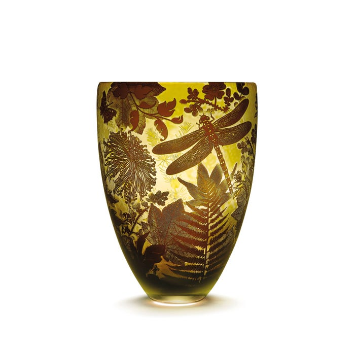 Large Four Seasons Vase, Summer