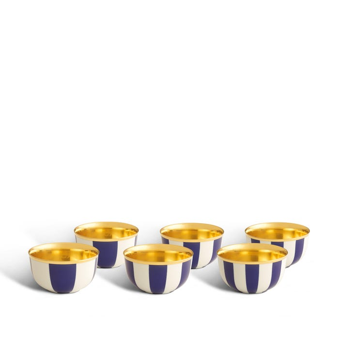 Queen's Champagne Cups, Set of 6