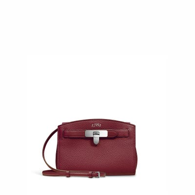 1781 Pochette in Cranberry Bullskin