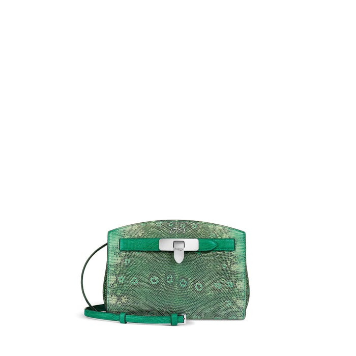 1781 Pochette in jade Lizard