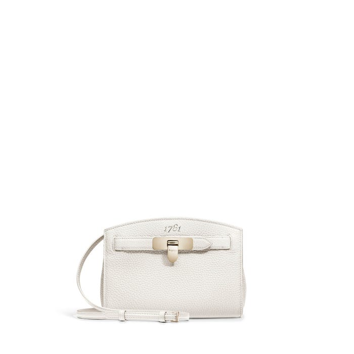 1781 Pochette in White Bullskin