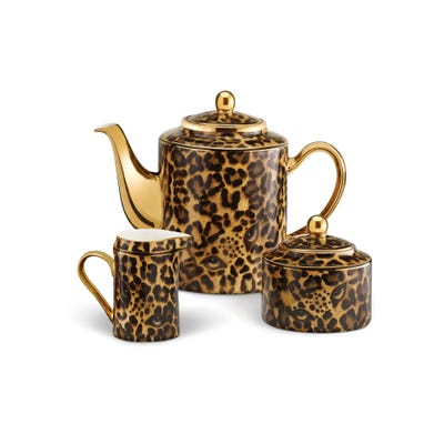 Leopard Tea/Coffee Set