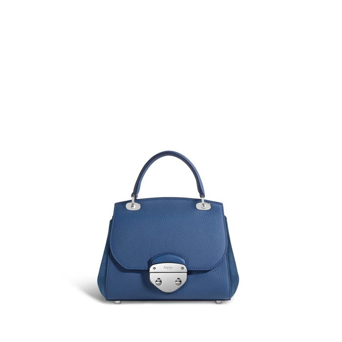 Belle Mini in Lapis Bullskin & Nubuck
