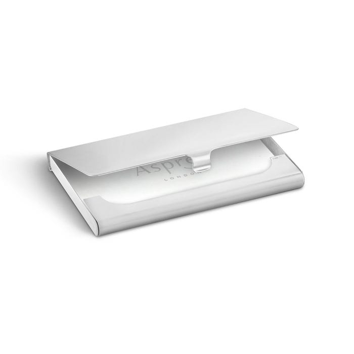 Classic Business Card Case, Silver