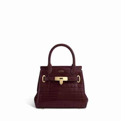 1781 Mini in Rosewood Crocodile