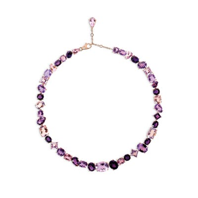 Purple Chaos Necklace